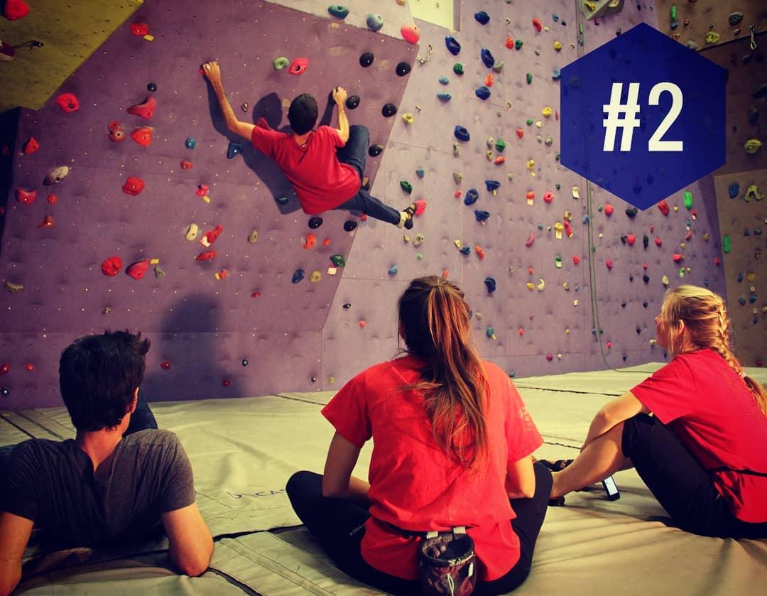 """Raison #2 : Accueillir de nouveaux grimpeurs !  En proposant un autre style d'escalade, sportif et ludique : le bloc est accessible et populaire  Le bloc sera d'ailleurs aux JO de et de  Pour participer -> caf-prades-escalade.fr (lien dans la bio au pied du"""" height=""""839″ width=""""1080″></a></p> <p><a href="""